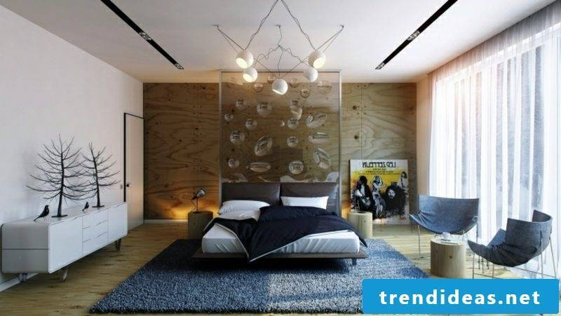 Room decorate bedroom original glass wall