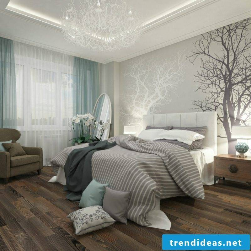 Bedroom deco photo wallpaper