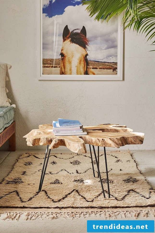 Wall decoration photos wooden table decorating apartment decorate