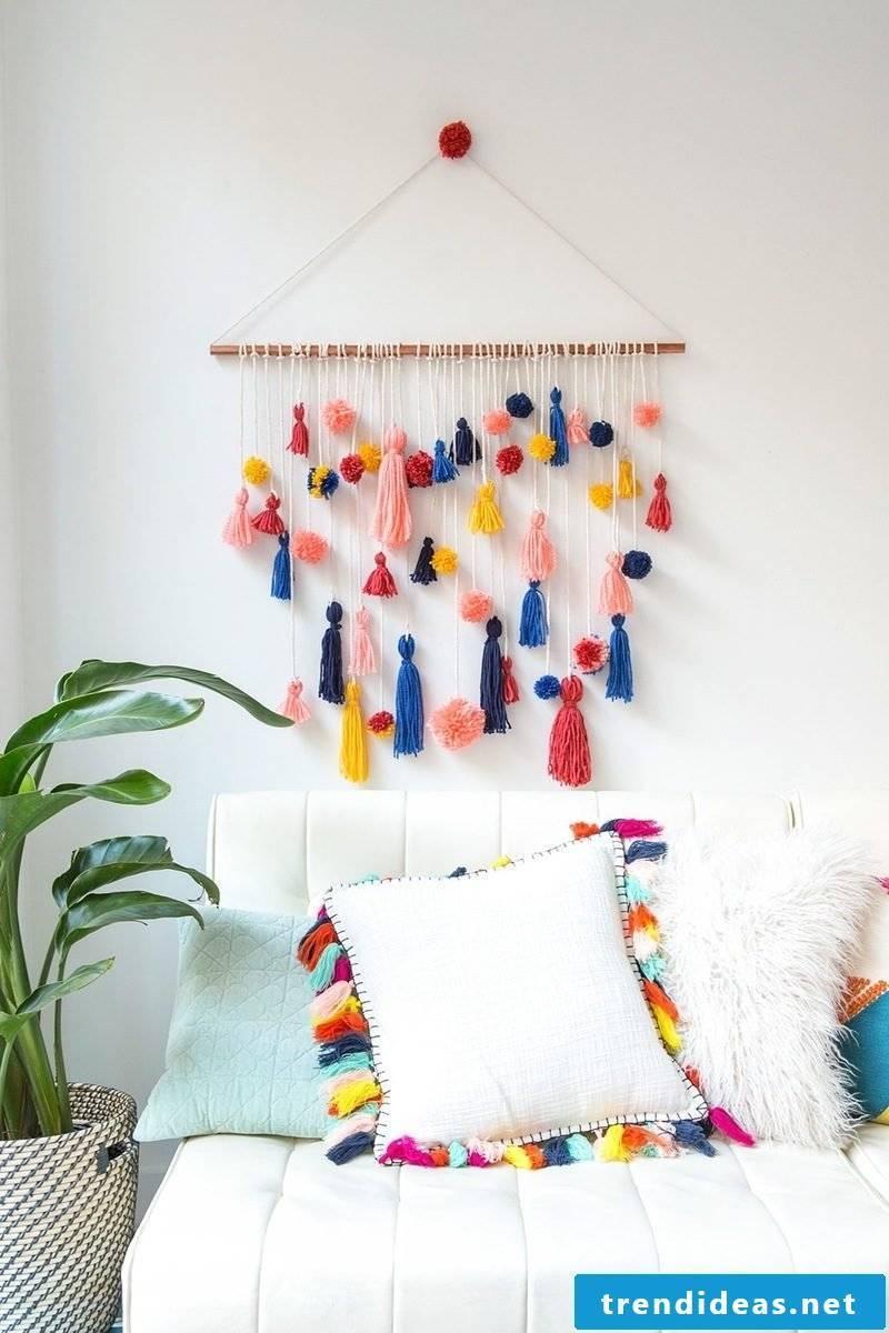 diy decoration ideas wall design pillow home plants