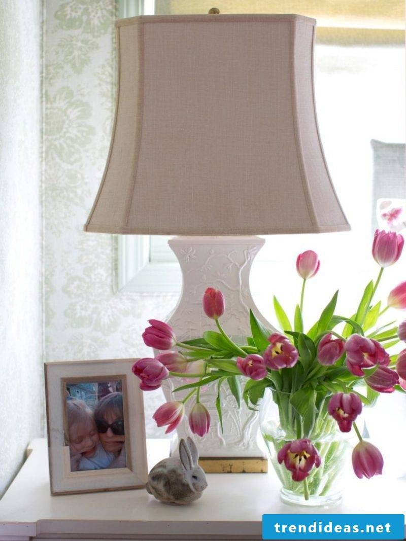 make flower decoration tulips decorating ideas yourself