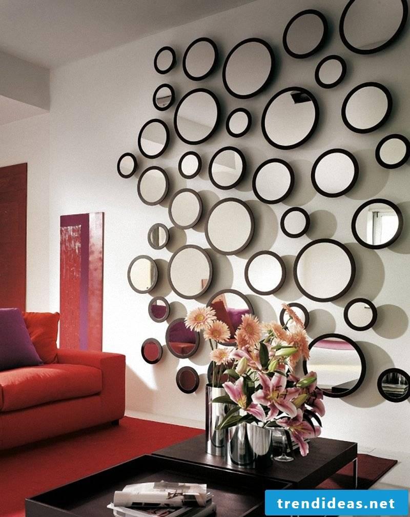 Wall decoration glass decoration ideas flat decoration