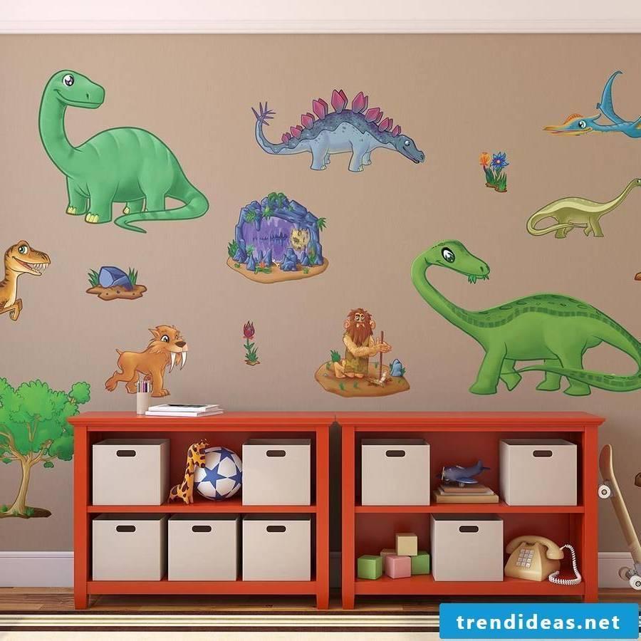 Sweet wallpaper for dinosaur lovers
