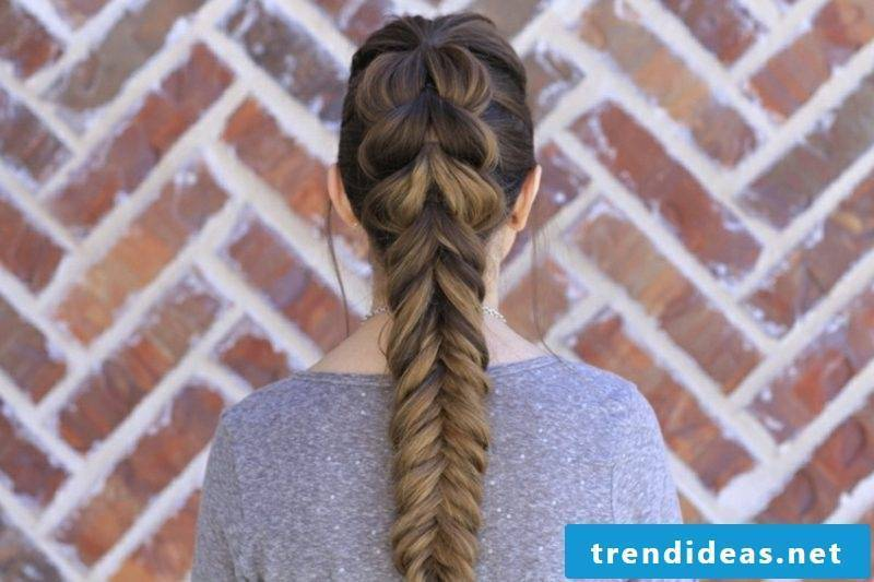 Braids shoulder-length hair Octoberfest