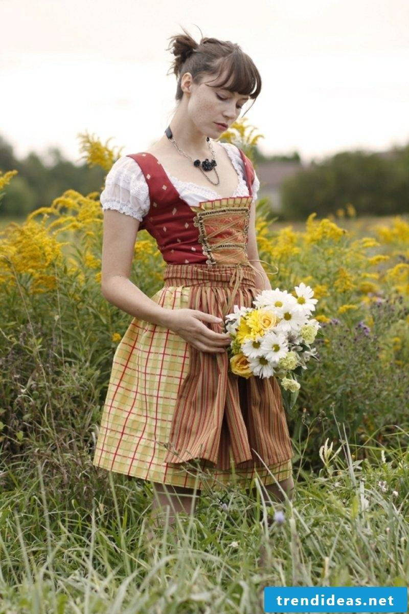 Dirndl hairstyles short hair