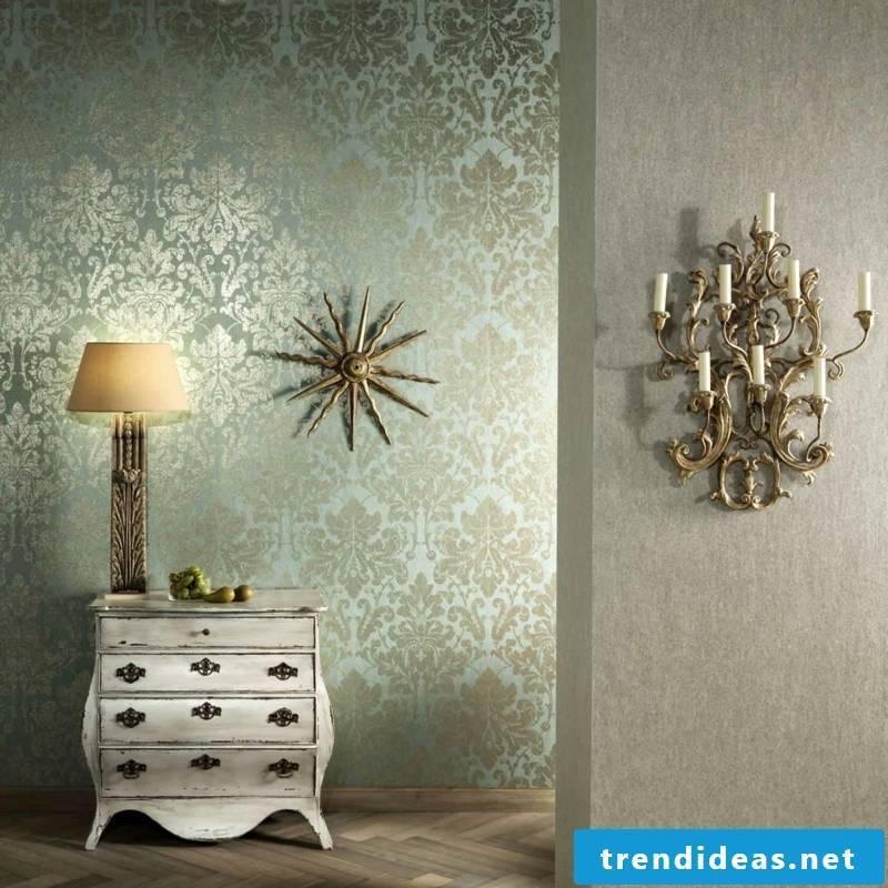 interesting decorative wallpaper