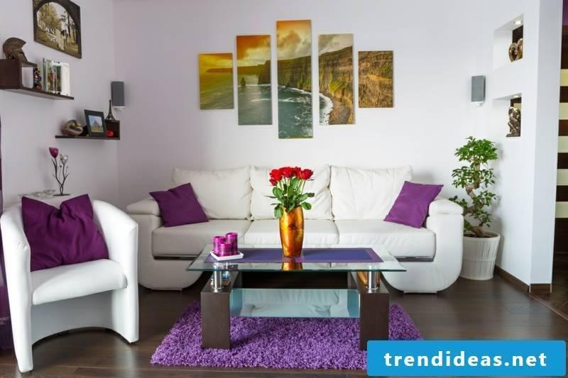 original purple pillow
