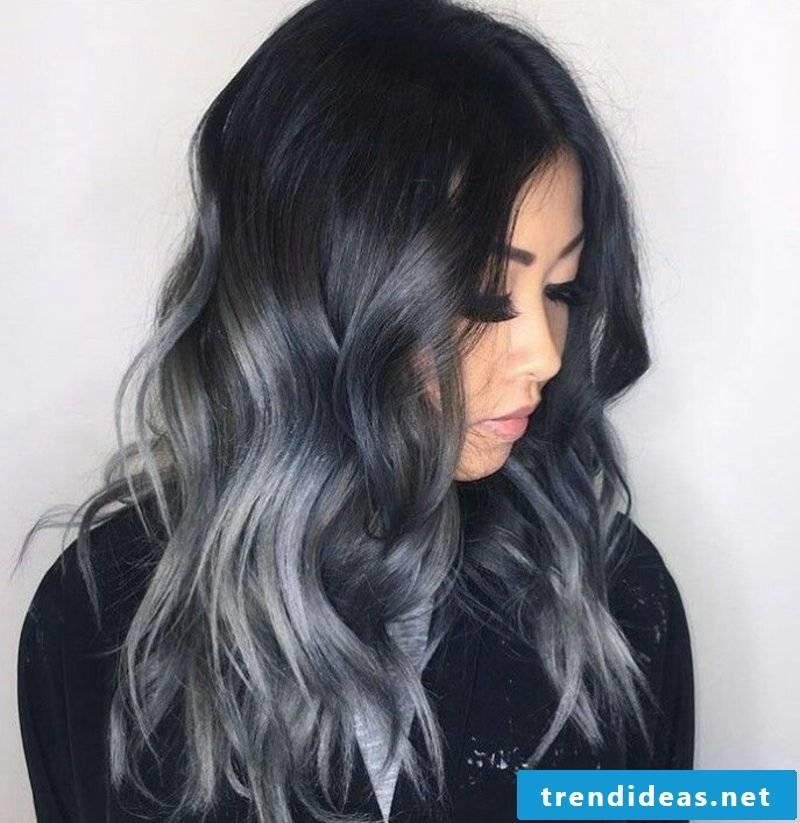 dm hair color dark gray announced