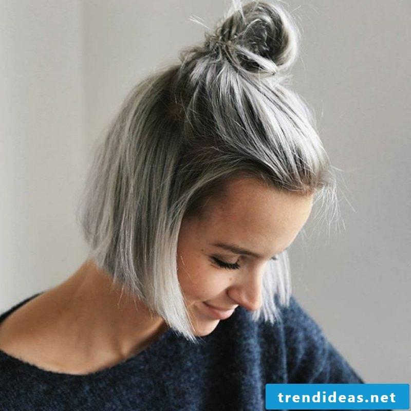 gray hair dye ash blond dark blonde difference