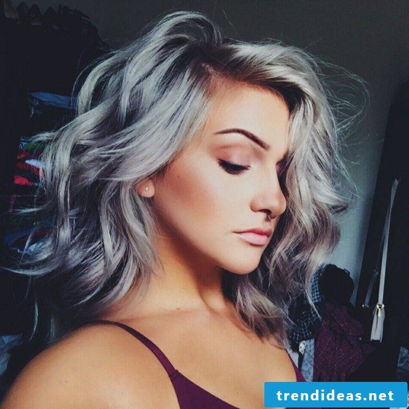 Hairstyle trends granny hair