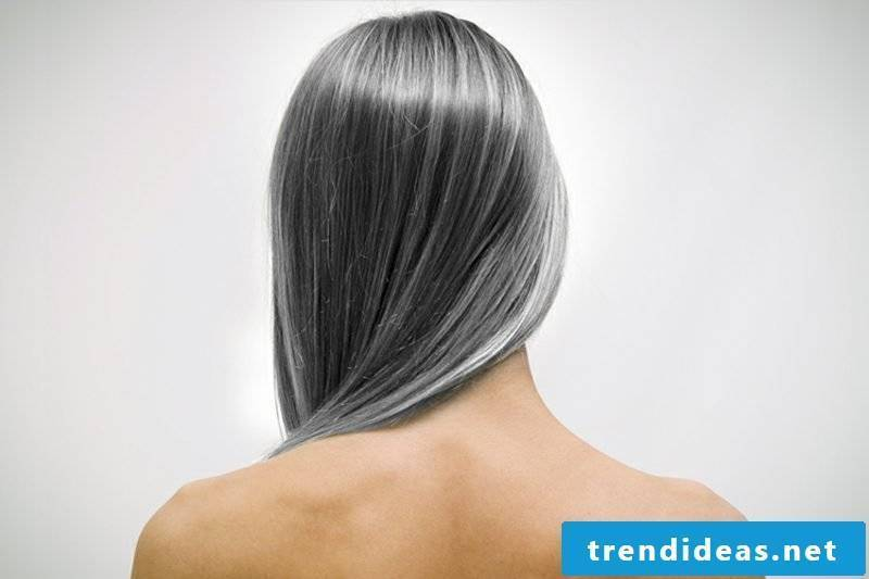 Hair coloring gray hair dye