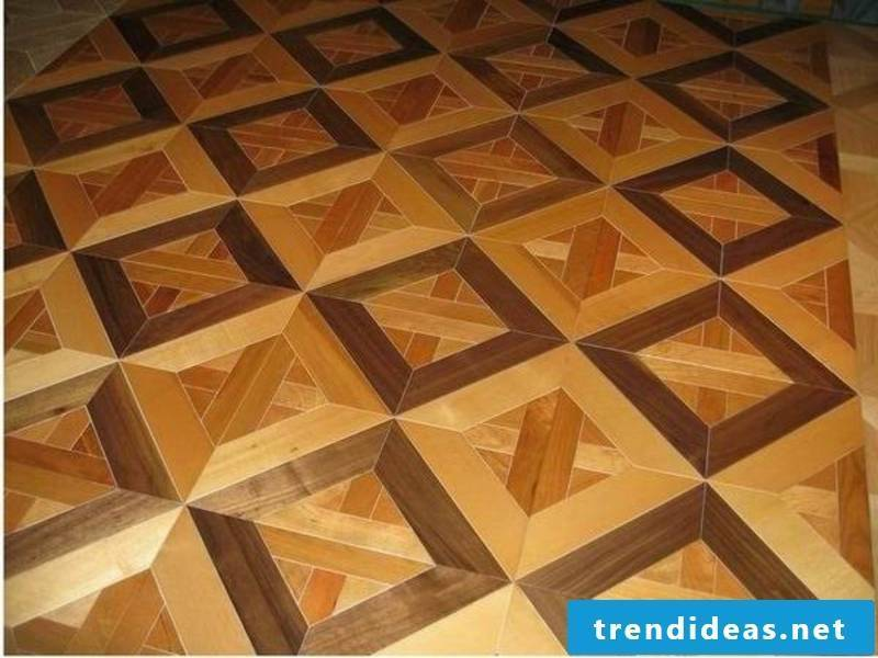 parquet floor in chinese style