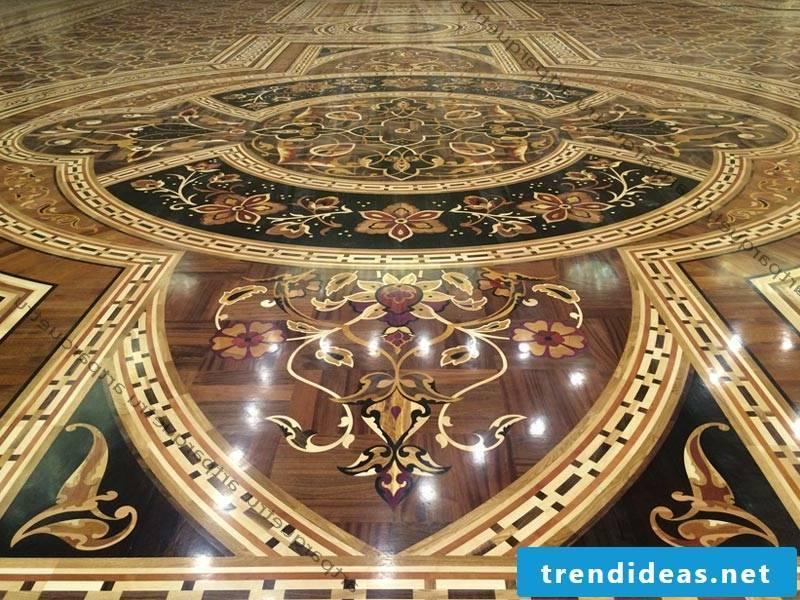 magnificent parquet floor