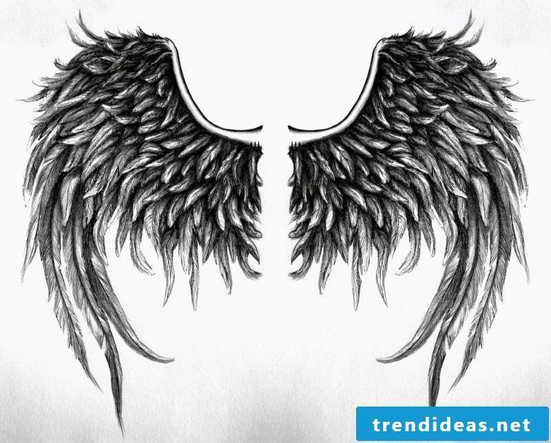 Angel wings templates