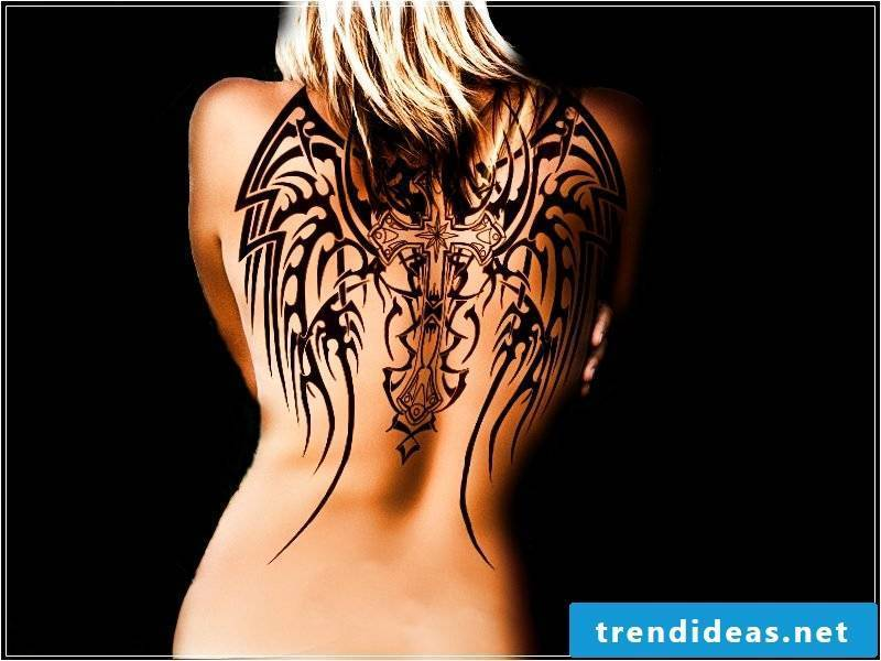 Angel Wings Templates Tribal
