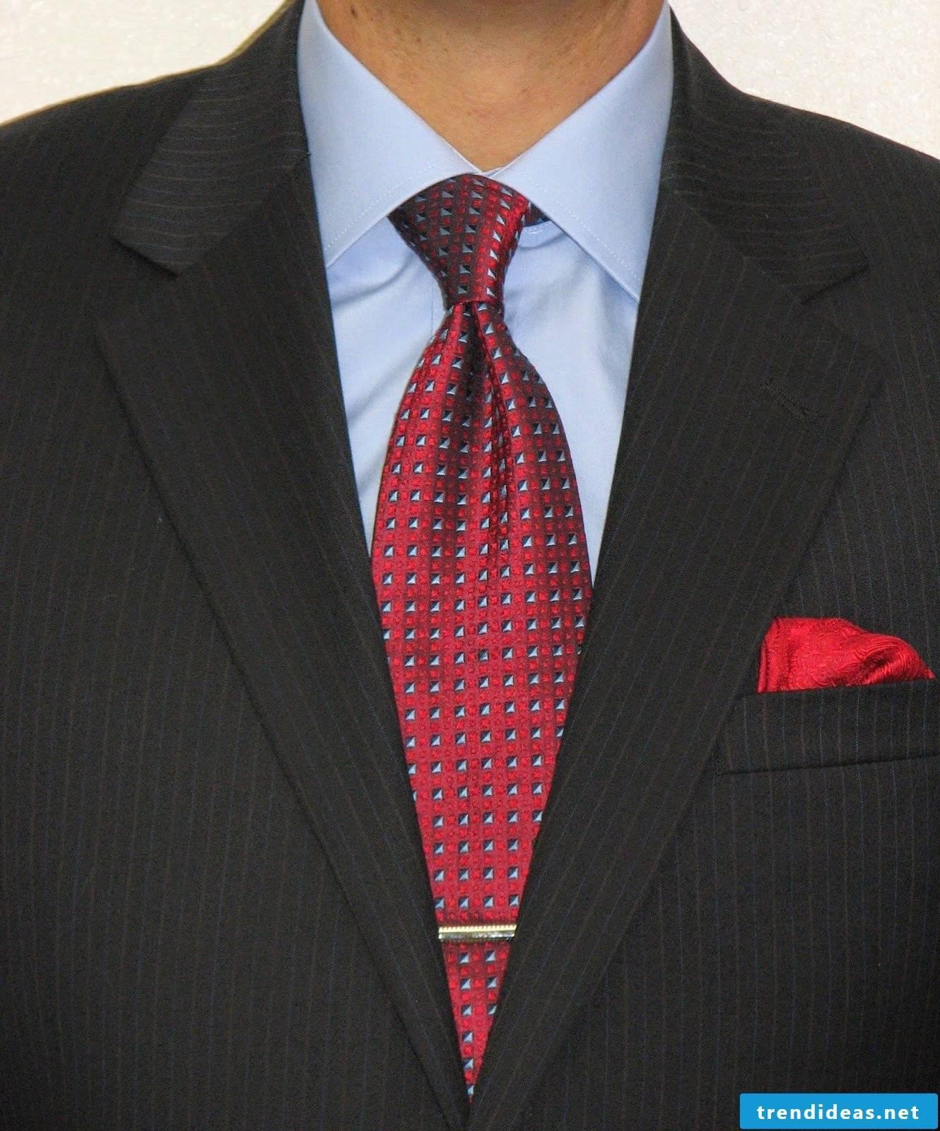 DIY tie knot for beginners