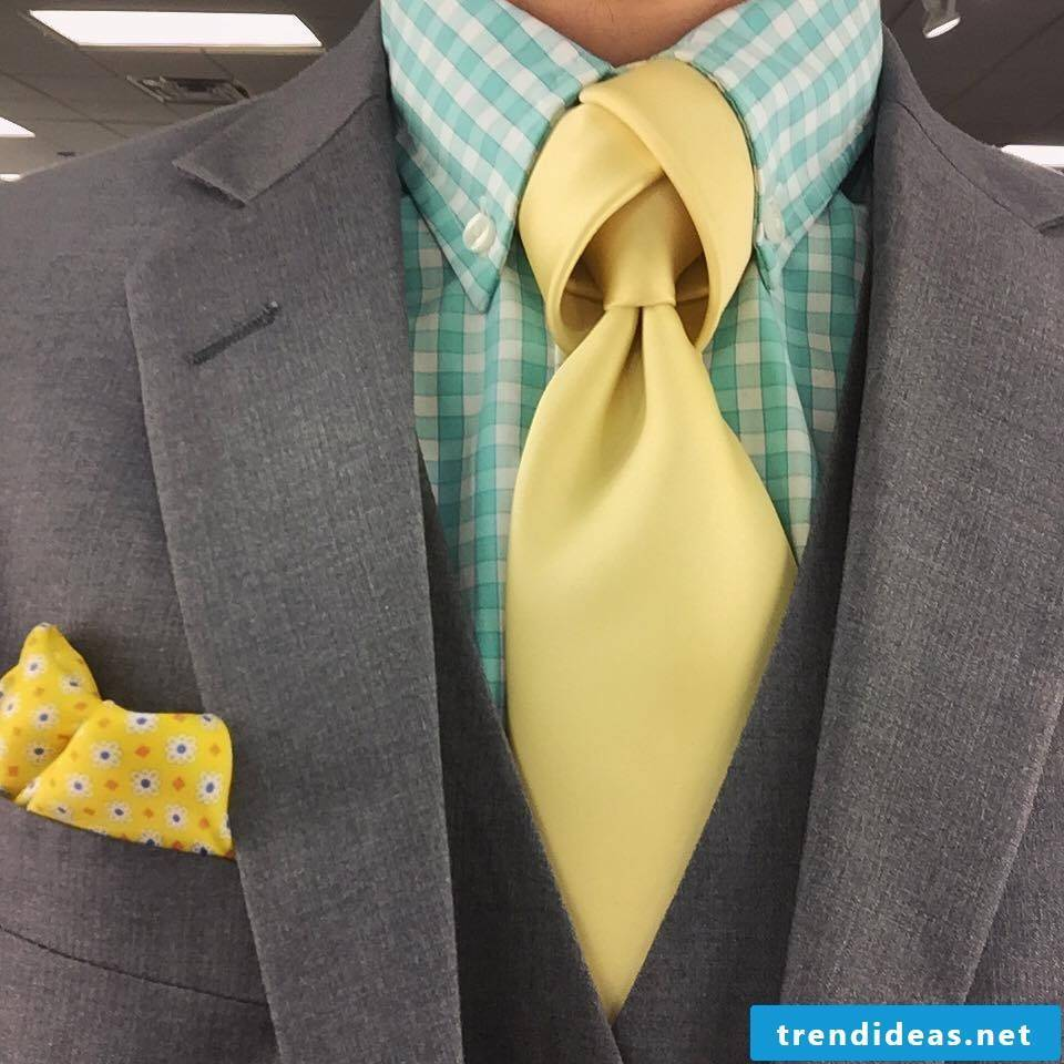 Ideas for original tie knots can be found here