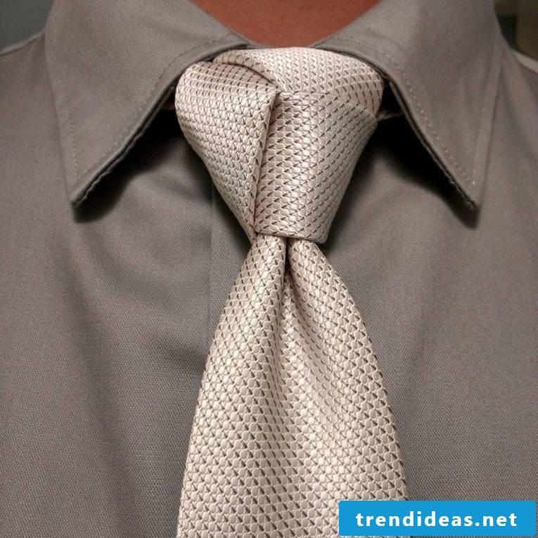 Tie binding for beginners