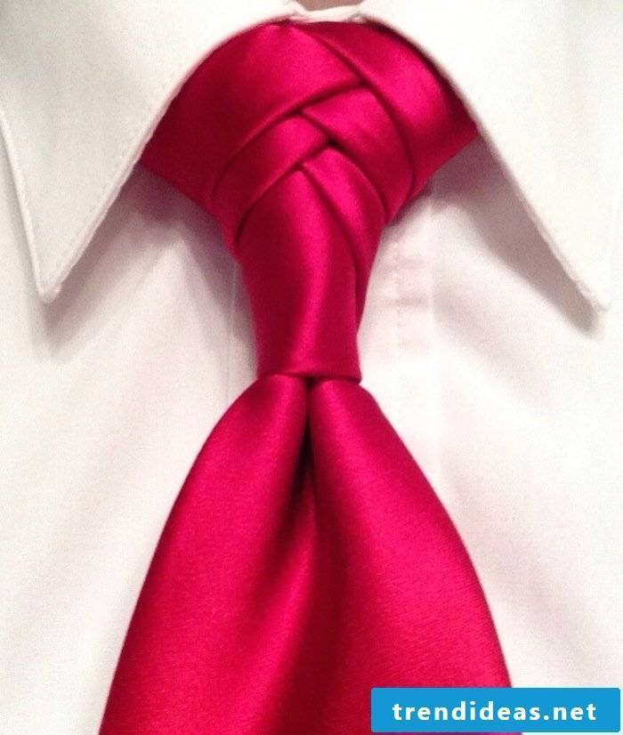 Instructions for tie knots