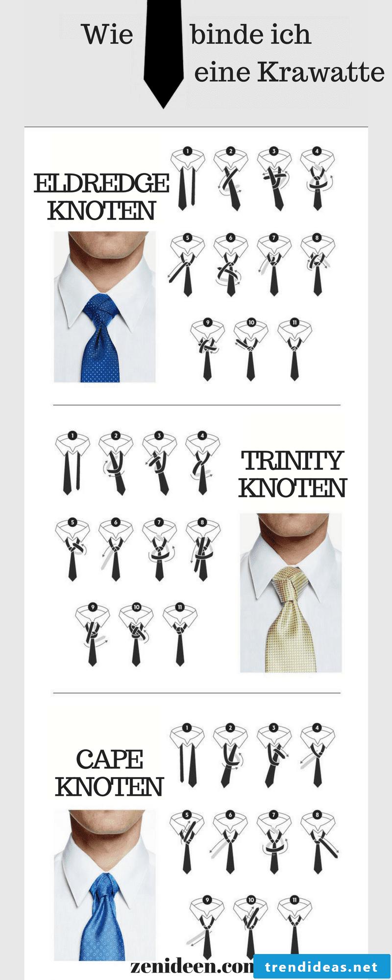 How do I tie a tie?