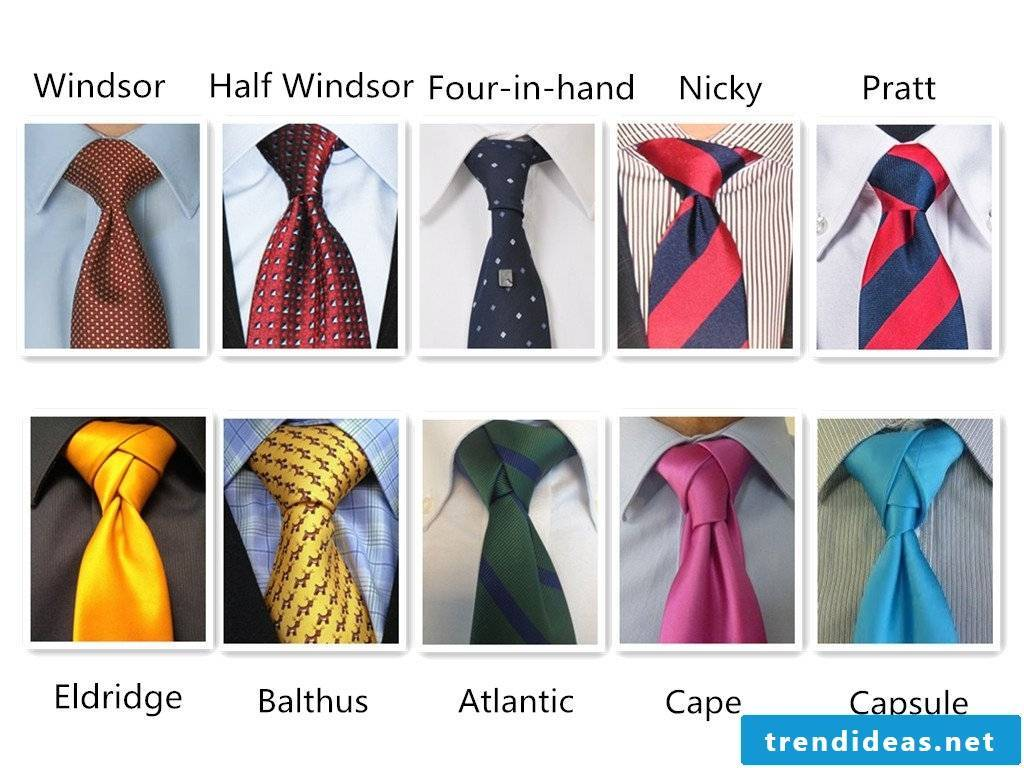 Tie knots for every occasion
