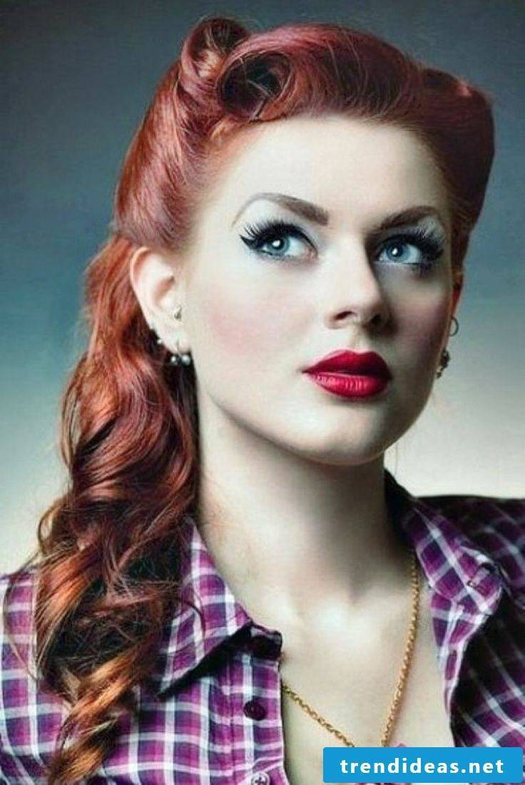 Rockabilly Make Up looks so sexy