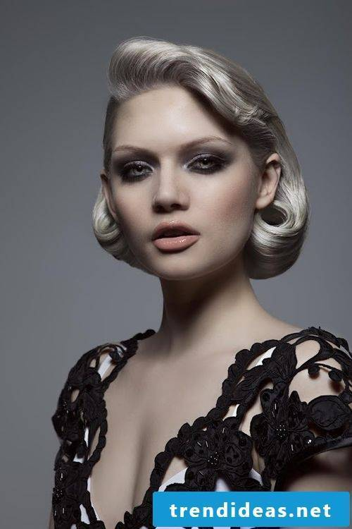 Platinum Blond is the color of the 50s hairstyle