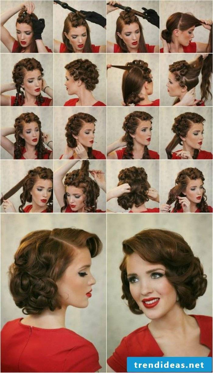 50s hairstyle - never as beautiful as it is today
