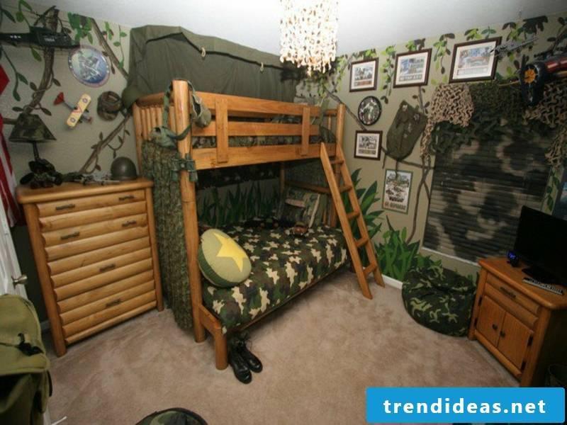 great modern atmosphere in the boys room