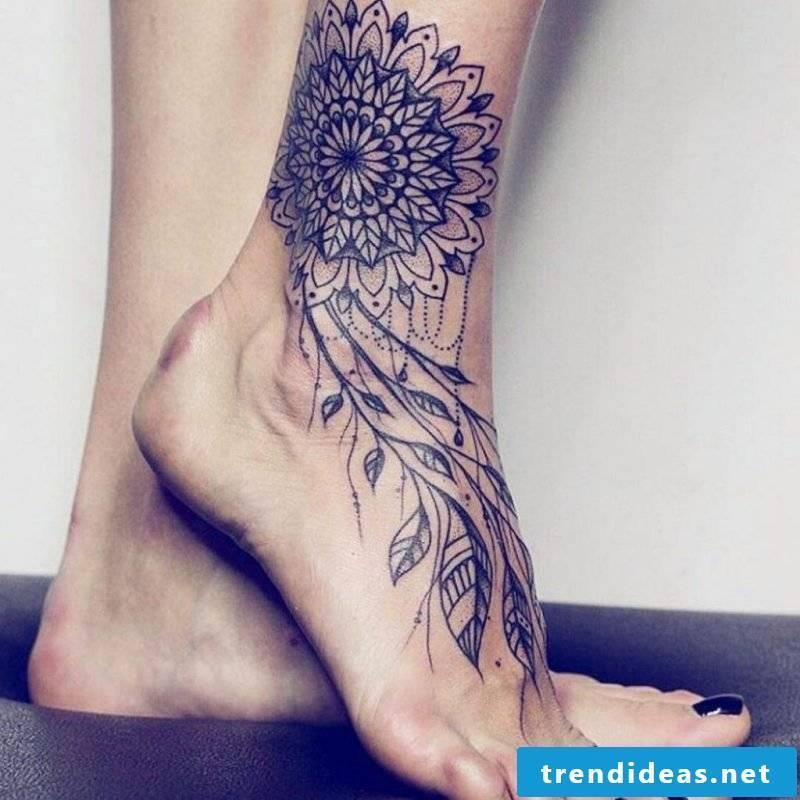 Mandala tattoos women