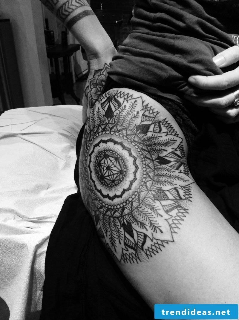 Mandala Tattoo Sexy Tattoos
