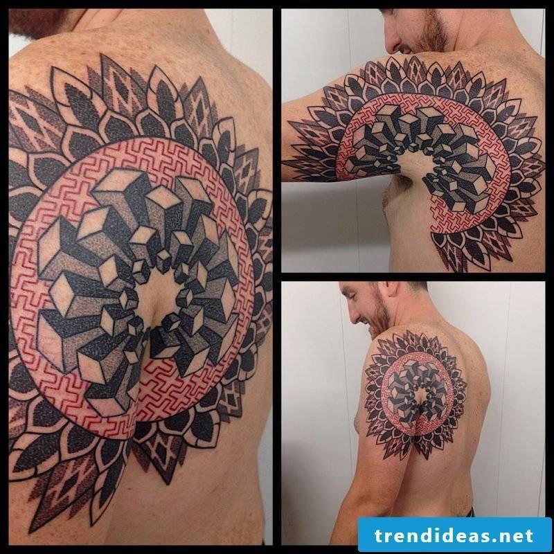 Mandala Tattoo Men