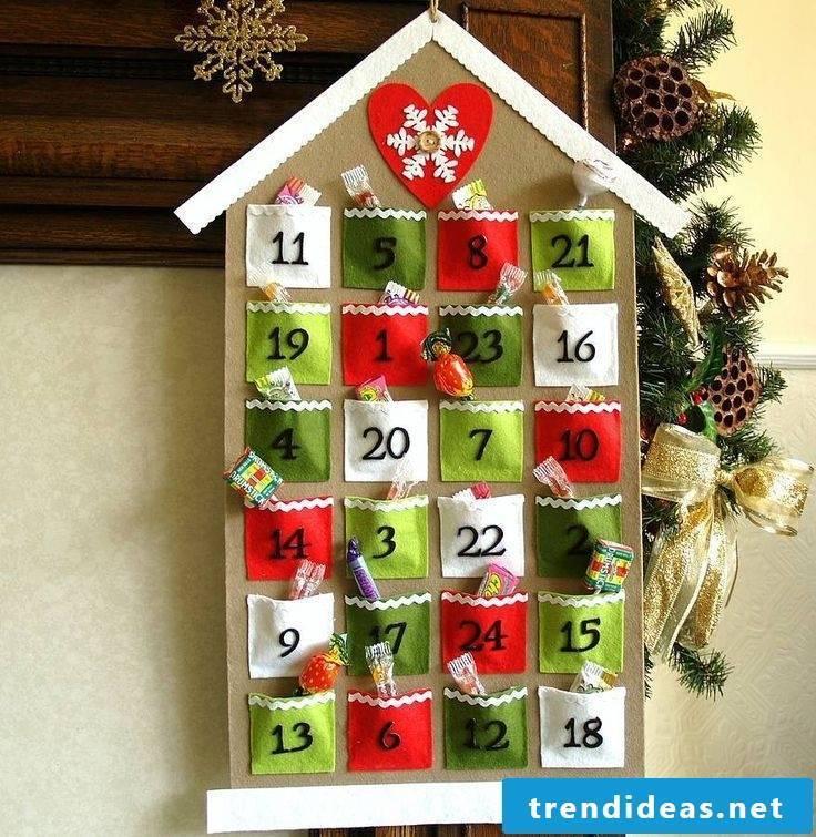 Ideas for advent calendars