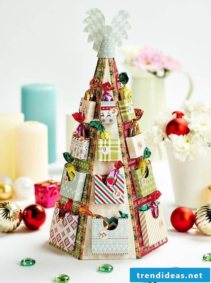 Create advent calendars creatively