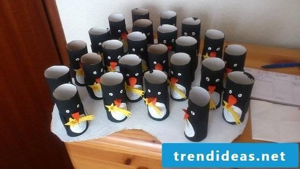 Penguins advent calendar