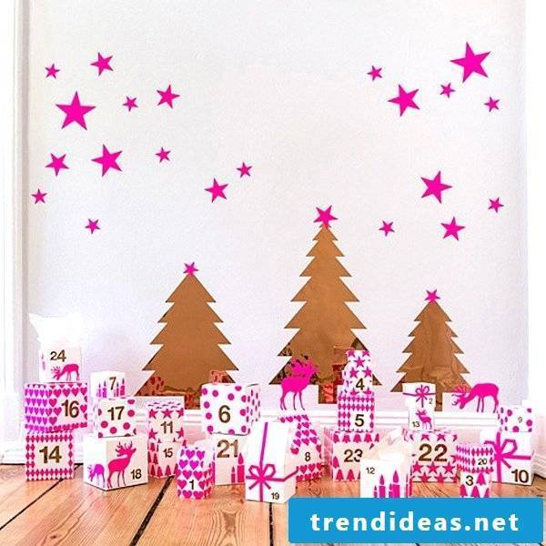 Advent calendar for girls