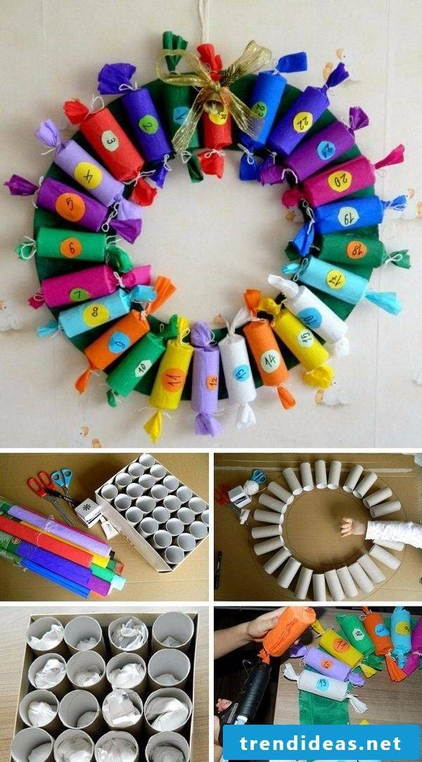 Make advent calendars - for a joy every day