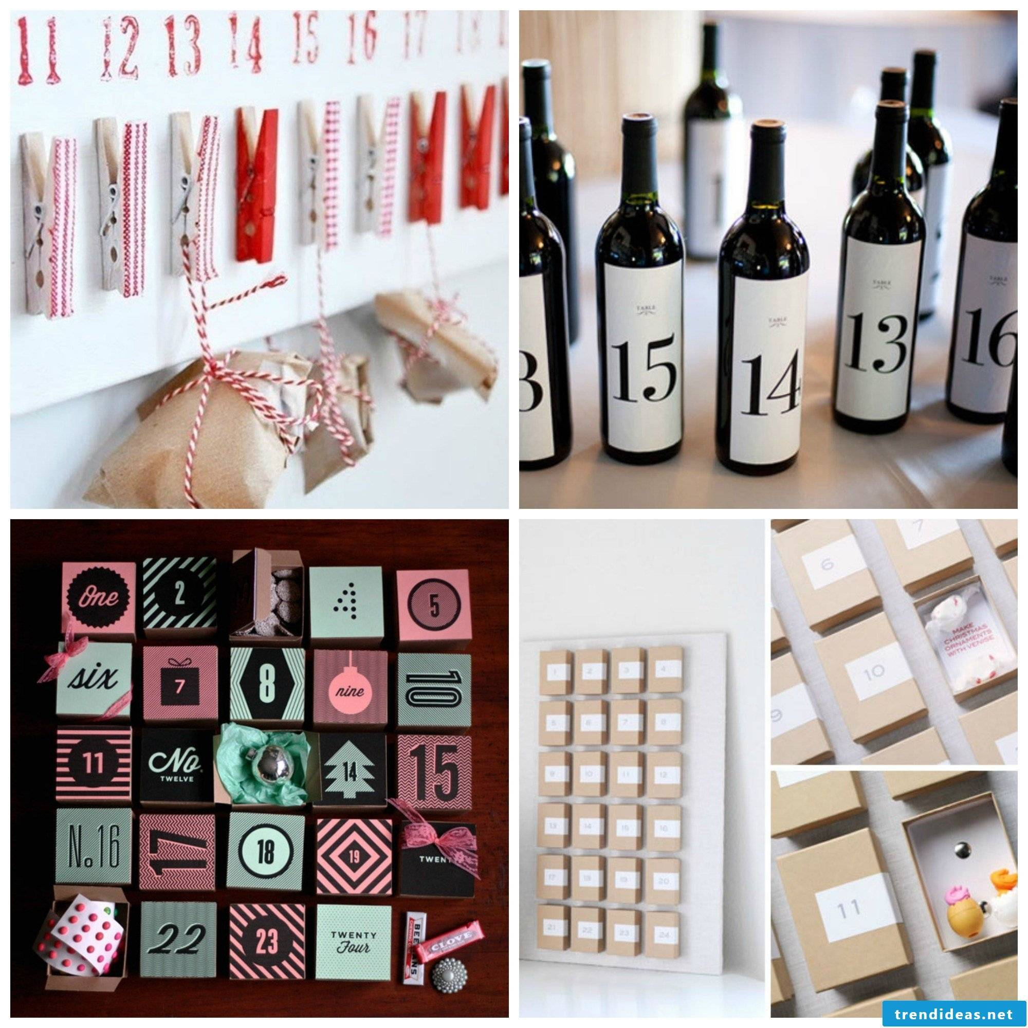 Advent calendar ideas for children and adults