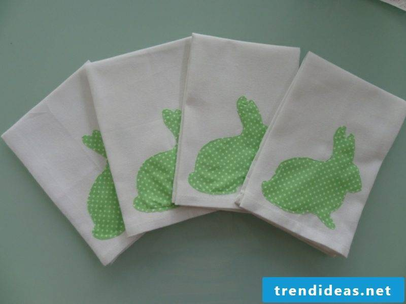 Easter decoration ideas with fabric