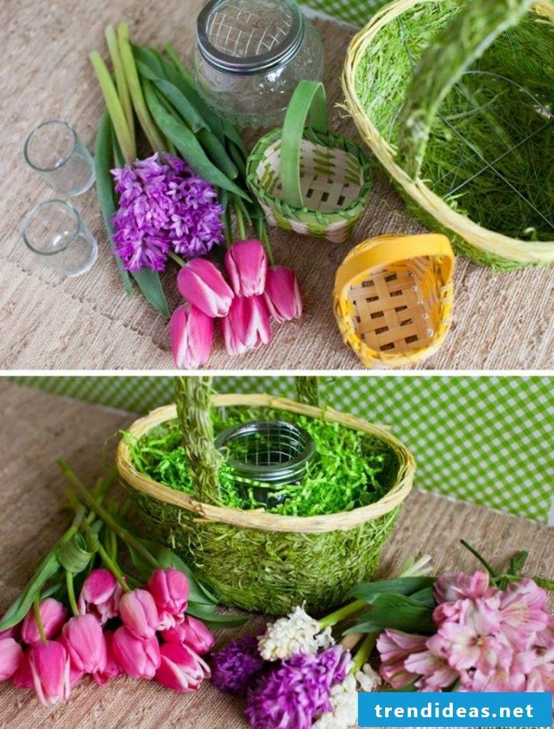 Easter decoration basket design yourself