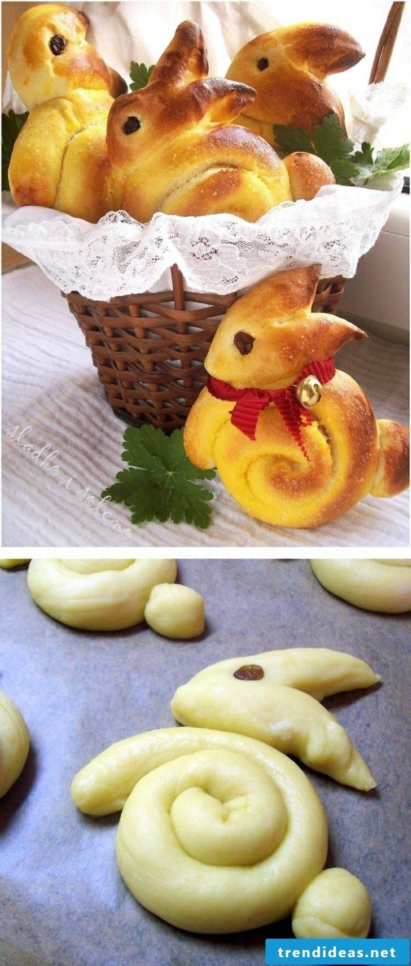 Easter presents make Easter biscuits