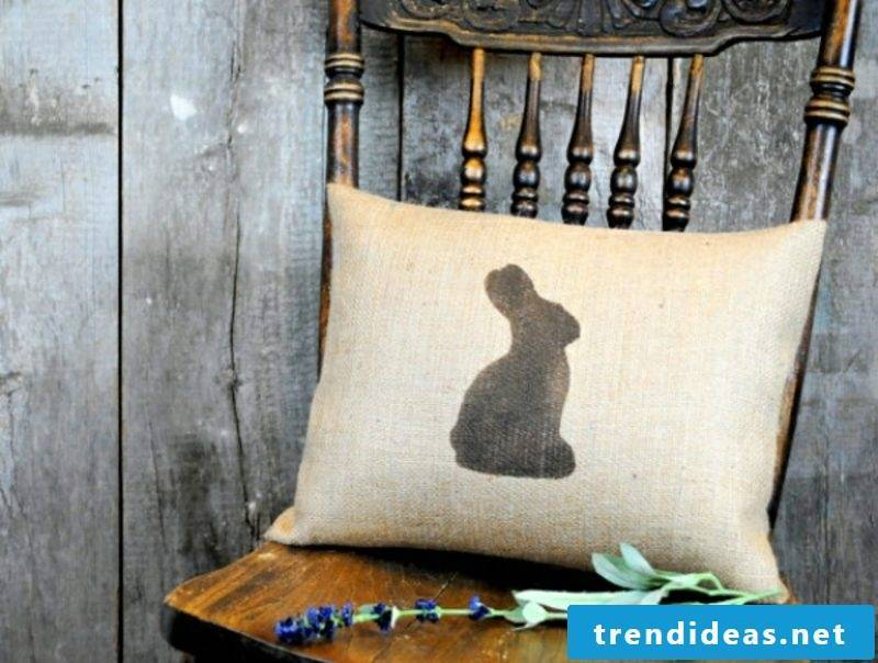 Easter presents craft pillows