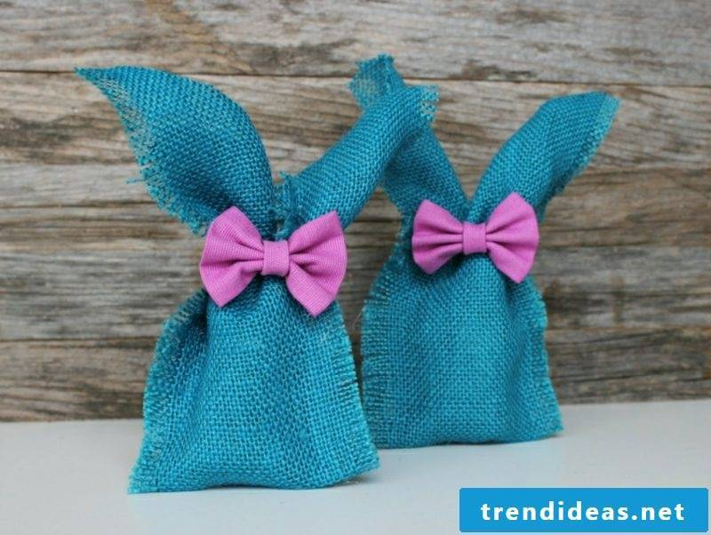 Easter presents are made from fabric