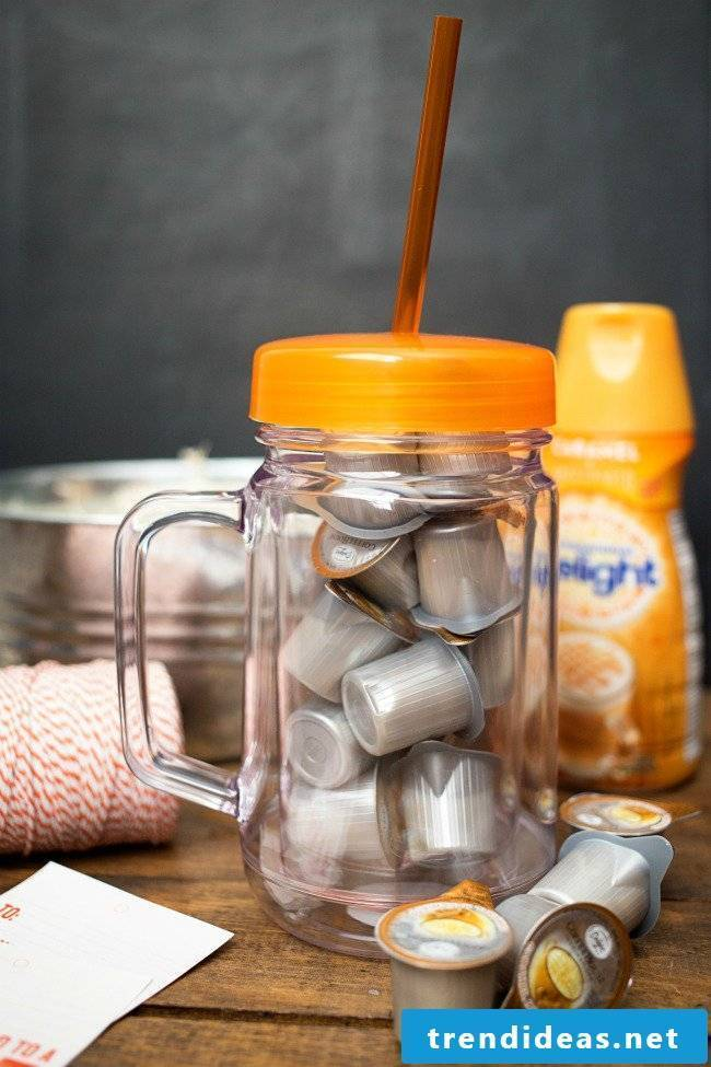 Creative gift for teachers who like to drink coffee!