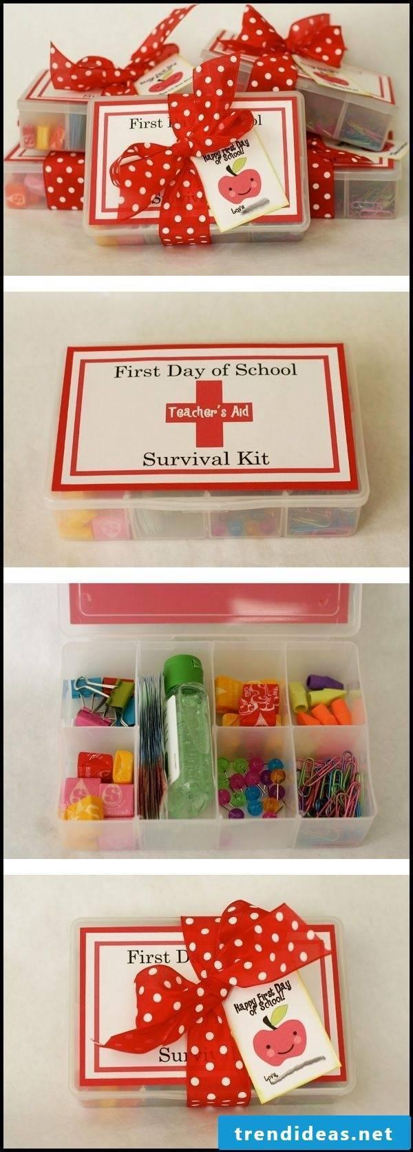 Gift for Schooling Survival Kit