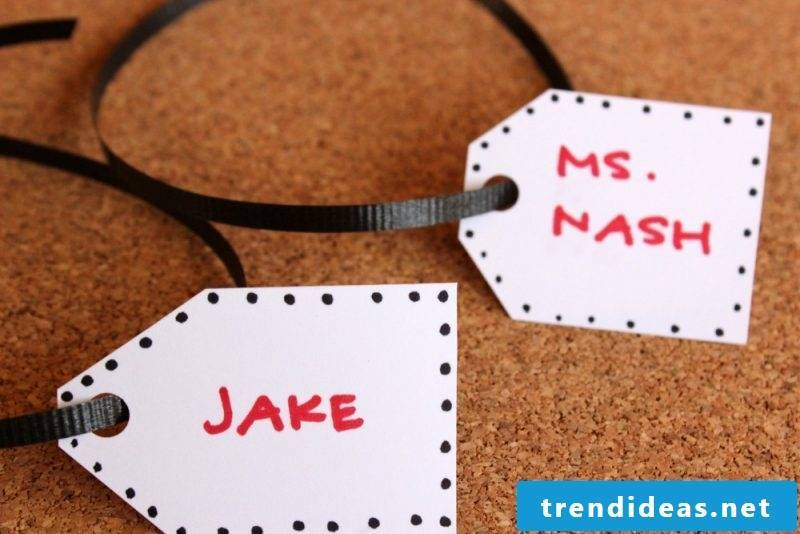 Creative DIY idea for gift for back to school - instruction