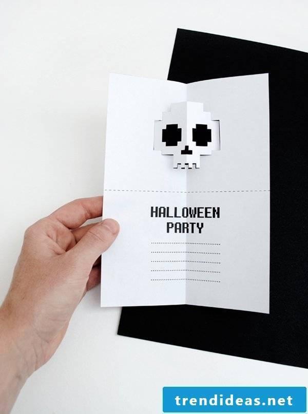 Halloween invitation Halloween party
