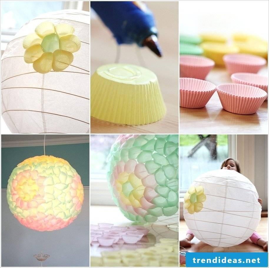 Create a lantern - lanterns make kindergarten