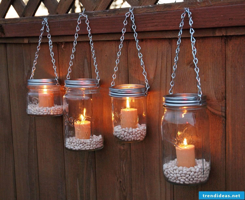 Beautiful garden lanterns
