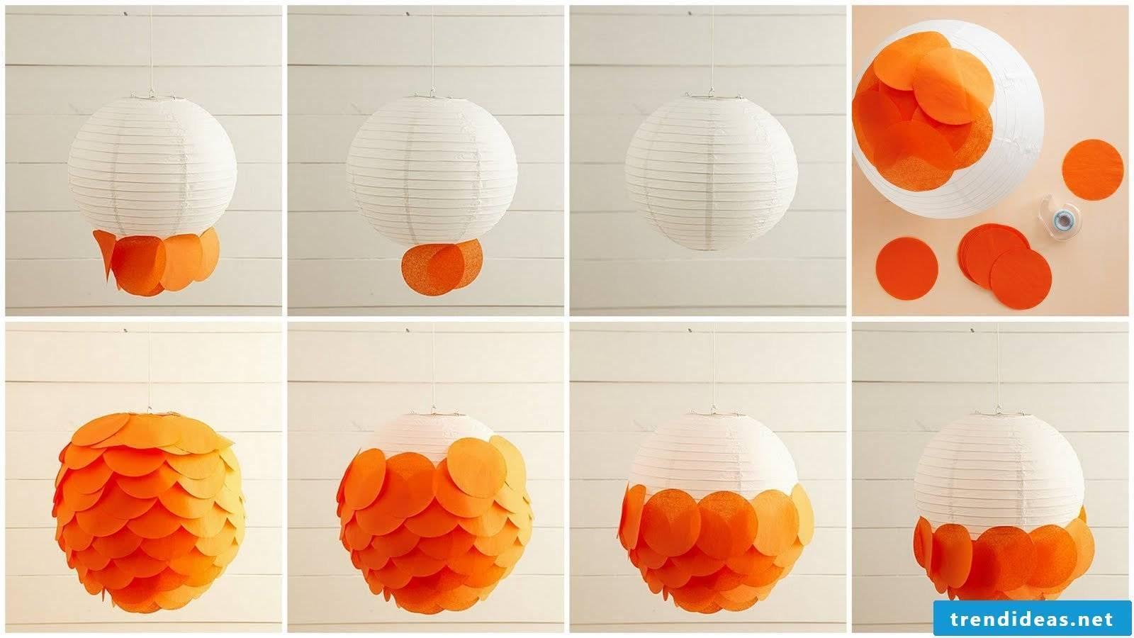 Make lantern for children